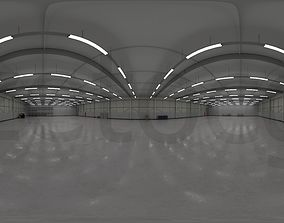 3D model HDRI - Industrial Warehouse Interior 3b