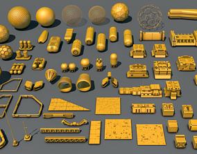 Kitbash Set 01 3D