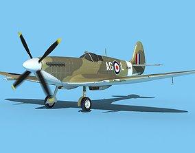 3D Supermarine Spitfire MkXII V05