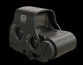 3D model Eotech HWS Exps3 Holographic Weapon Sigh