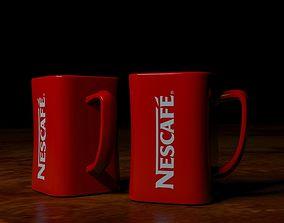 Nescafe Coffee Mug 3D model