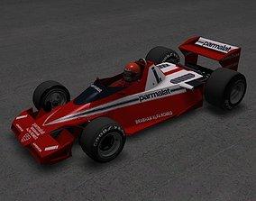 Brabham BT45 Alfa Romeo F1 1978 3D asset