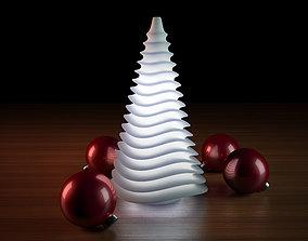 3D print model Generative design Wave lamp for the 1