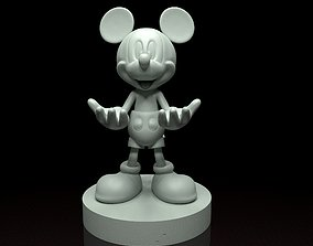Mickey Mouse phone holder 3d model stl file 3D print