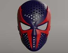 3D print model Spiderman 2099 face shell web