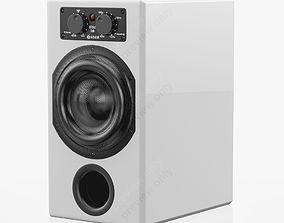 3D Adam Audio ARTist Sub Gloss White
