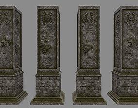 pillar 3 3D model