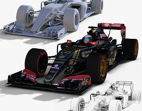 3D model Lotus E23 Hybrid
