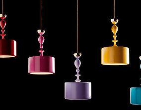 suspended Melina light modern 3D