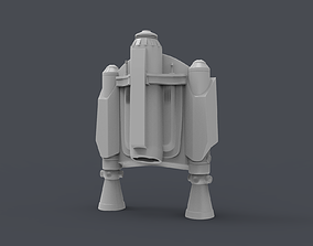The Mandalorian 2019 Jetpack for 3D print