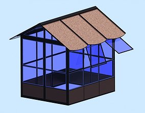 Mini greenhouse 3D