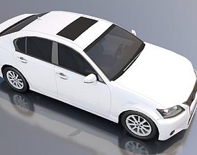 Lexux GS 350 3D model