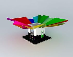 small driveway cafe 3D model