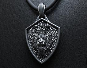 lion king of beasts pendant 3D printable model