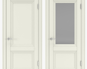 Classic interior doors 09 3D model