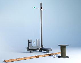 3D asset Mathematical pendulum