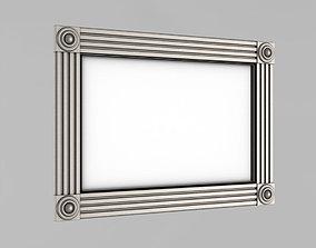 border Frame for the mirror 3D printable model
