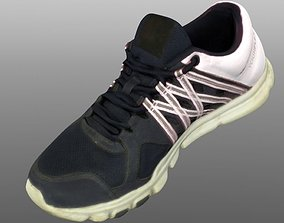 athletic Sneaker 3D model low poly VR / AR ready