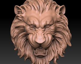 nature lion face 3D printable model