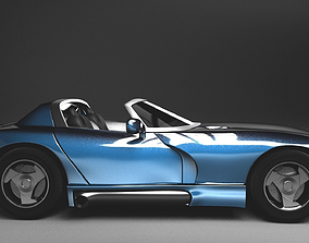 3D Dodge Viper 92