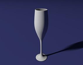 Champagne glass 3D printable model
