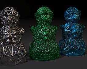 interior SNOWMAN 3D print model