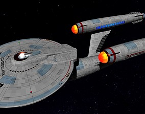 3D asset STAR TREK - USS CONSTELLATION NCC-1017