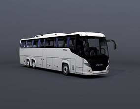 3D asset Scania Touring Bus