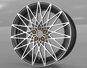 Car Rim MF562 3D
