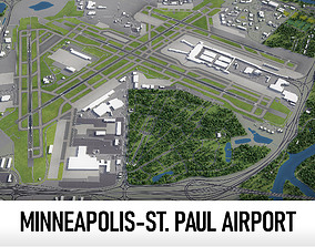3D asset Minneapolis-Saint Paul International Airport