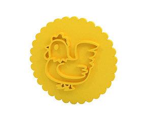 Cookie stamp - Stamp 3D printable model house