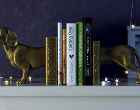 Dog Bookend 3D printable model