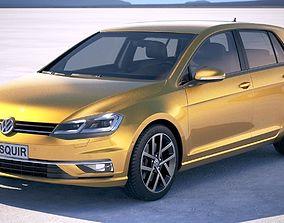 Volkswagen Golf TDI 2017 3D model