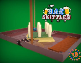 The Bar Skittles Game 3D printable model