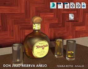 Tequila Don Julio Reserva Anejo 3D
