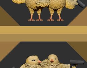 chicks with gun 3d printting