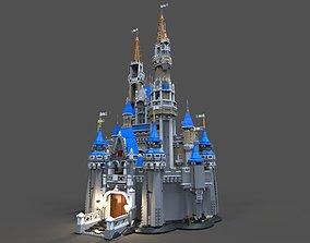 Lego Castle disney 3D