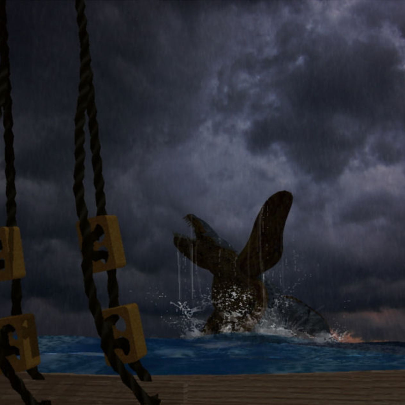 A not so quite night at sea on Planet Archipelago