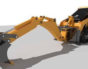 3D model Bobcat Mini Excavator