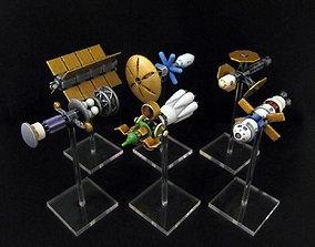 3D print model High Frontier Spaceships