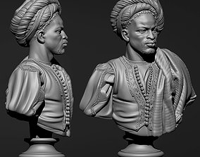3D printable model Charles CordierNegro from the Sudan