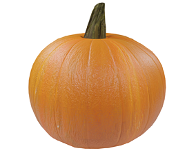Pumpkin 3D model VR / AR ready