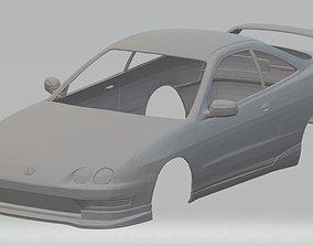 Acura Integra Type R DC2 Printable Body Car