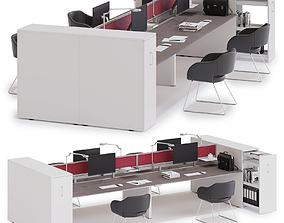 3D Office workspace LAS 5TH ELEMENT v7