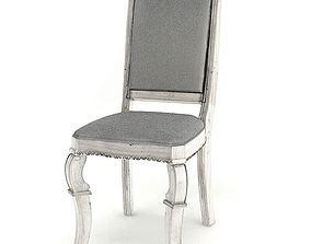 Gray Vintage Chair 3D model