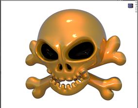 3D model BF skull 01