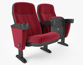 3D Fabric Cinema Seating Chair