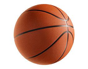 3D PBR Basketball ball