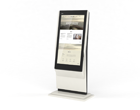 3D Information Kiosk Kiotron