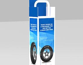 3D Creative Sanitizer Stand